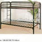 Mordern double metal bed-XH-TC-009