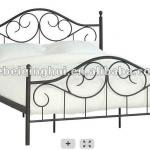 new design double metal bed-gh1445