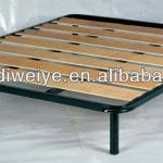 queen size broad board metal bed frame-XD-Y-K03