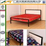 Simple metal bed without bed board cheap metal with mattress-HT-MB-3---metal iron bed