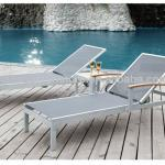 Outdoor leisure equipment teslin sun lounge chair HY3054L-HY-3054L