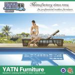 2014 New design outdoor rattan beach sun bed-YTF645,YTE623-2