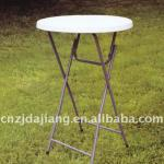 Small Plastic Folding Round Table Height 110cm-DJ-Y81