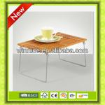 2013 new design cheap furniture bamboo folding table-HM1107-017
