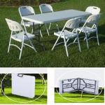 modern plastic foldable table for outdoor furniture-YZ-Z183