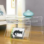 transparent acrylic coffee table-LZ