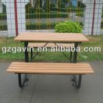 6 seater recycled plastic dining table-C-007a