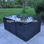 7 pcs 2013 New Style outdoor artificial rattan furniture-GA53017