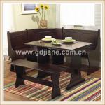 2014 Home Styles Dining table and Bench ,french European country dining room sets ,Chelsea kitchen nook set