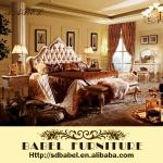 905 2014 new French classical style bedroom furniture set