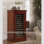 Antique kitchen cabinet wine rack