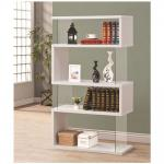 Asymmetrical Four Snaking Bookshelves Bookcases MM09