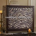 CF30108 Zebra Stripe Chest with 4 Drawers