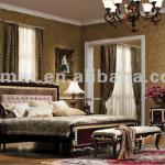 Chinese antique 5 star golden foil hotel furniture set