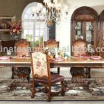 classic wood dinning set dinning room set