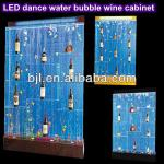 dance waterfall fountain home wine cabinet