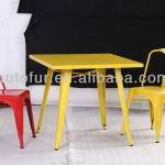 Durable Tolix Bar Metal Tables, Coffe Shop Tables