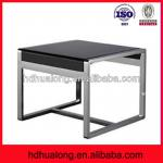 Fashionable modern stainless steel console table