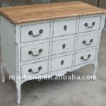 french 3 drawer chest
