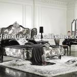 French style whole solid wood bedroom set furniture, bedroom sets DXY-YH01#