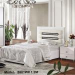 Full and single size bed with elegant apperance from China furniture