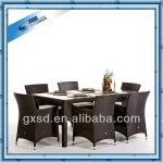 rattan party tables and chairs for sale