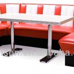 Retro Dining Booth Dining Chair Dining Sofa