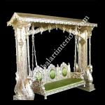 Silver Porch Swing