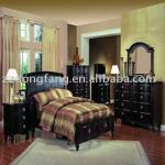 The latest design comfortable wooden bedroom furniture(BS-168FDA)