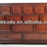 wooden storage cabinet with 15drawers/drawer cabinet/cabinet wooden multi drawer