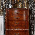 antique wooden furniture with many drawers DF94-5