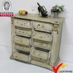 New product for 2013 antique white reclaimed and recycled wood cabinet