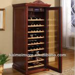 Antique furniture wooden red wine cabinet