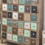 Chinese antique Shanxi Recycled solid wood distressed medicine cabinet